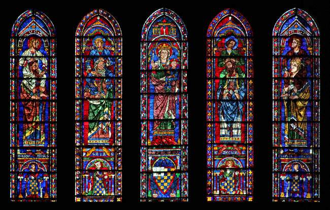 Image result for stained glass windows of chartres cathedral