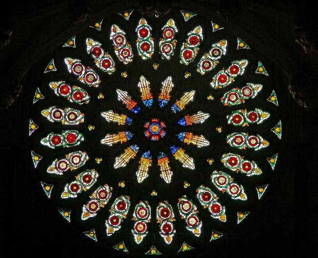 york minster rose window images
